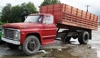 1969 Ford F600 grain truck runs and drives good: