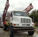 1989 Hardi 7100 spray truck 1000 gal poly tank, International 466T: