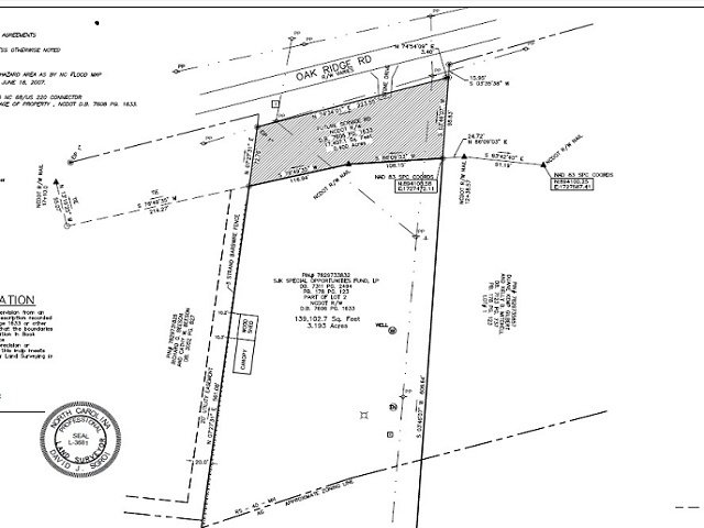 Court Ordered Receivership Auction of 3 Acres in Summerfield , NC