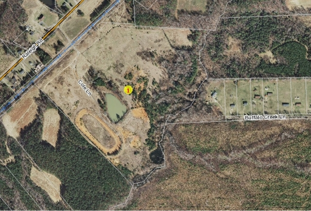 Absolute Auction of 63+ Acres in Kittrell, NC