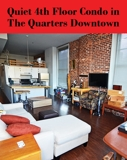 Beautiful 4th Floor Condo in The Quarters Downtown Nashville