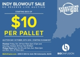 Bid on Fusion Indy Blowout Sale