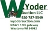 Annual sign, salesman sample & country store auction
