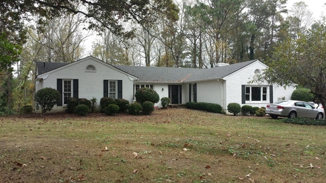 Estate Auction of East Cobb Home on 2.1± Acres