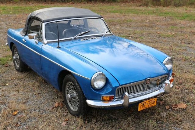 Gallery 1963 Mg Mgb Convertible