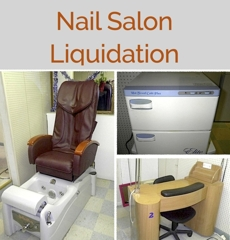 closed and sold nail salon complete liquidation online