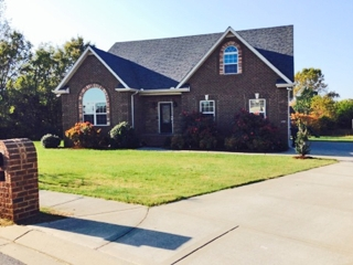 2,600 sf 3BR, 2BA Brick Home on .49 +/- ac