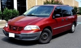 PRIVATE ASSET AUCTION; 2000 FORD WINDSTAR LX, EXTENDED SPORTS VAN 4-DOOR.125K ACTUAL MILES, MUST SEE!