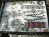 there is a nice variety of costume and silver with semi-precious stones: