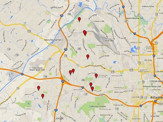 Absolute Auctions of Residential Homes & Site in Atlanta, GA