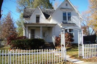 : The home has a fenced in yard located in a quiet neighborhood.