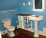 : Upstairs bathroom with Jacuzzi tub and shower