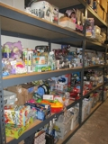 Toys, Linens, Household, Groceries