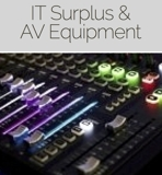 IT Surplus and AV Equipment Online Auction NJ