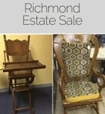 Richmond Estate Furniture, Finds, Collectibles and more! Auction Online Auction VA