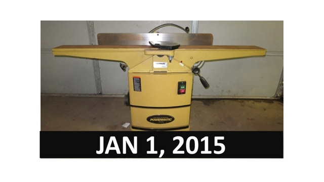 Luxury Online Auction  Woodworking Equipment Closes Nov 5 2015