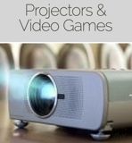 Projectors and Video Game Online Auction MD