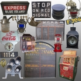 Excellent Antique Auction of Railroad Items, Coin-Op Machines, Slot Machines, Advertising Items & More