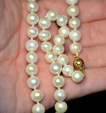 CHARITY AUCTION! GORGEOUS PEARL COLLECTION SETS; NECKLACES, EARRINGS, STERLING SILVER PENDANTS & MORE!