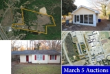 South Carolina - March 5 Auction Events