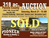 Panola County 318 ac. Selling to the Highest Bidder