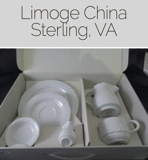 Limoge China and Crystal Online Auction MD