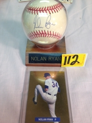 Nolan Ryan Signed Ball