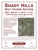Shady Hills Golf Course Auction