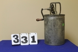 Antique Butter Making Equipment Auction - Timed Internet Only Auction
