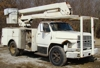 8.2L DIESEL 45' LIFT, RUNS AND DRIVES: