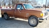 1990 FORD F250 GAS, 6CYL, 2WD, AUTO:
