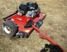 "46"" pull behind mower 12 hp.-like new:"