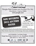 Now Offering 2015 Auction Dates
