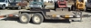 16' trailer with dove tail: