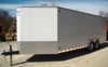 2000 Jensen 24' cargo trailer, 16 tie down hitches: