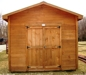 "10x16 standard gable pine cabin/shed by ""Quality Built""-NEW:"