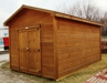 "10x16 standard gable pine cabin/shed by ""Quality Built""-NEW, these buildings are top notch!:"