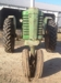 """1952 J.D. """"A"""" almost new rubber on rears, honest tractor-runs great:"""