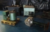 3 forgers and forging tools, Black sand molding table:
