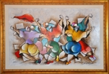 RETIRED WALL STREET EXECUTIVE IS SELLING HIS FANTASTIC FINE ART COLLECTION! T. MCKNIGHT, SCHLUSS, CHAGALL & MORE!