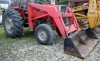 1979 Massey 285 with loader & new front tires: