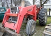 1979 Massey 285 with loader, 85 hp.: