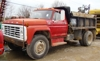 1979 F700 2 Ton dump bed-straight truck: