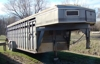 1993 24' Titan stock trailer: