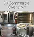 CLOSING TODAY by Appointment, (4) Commercial Ovens Online Auction NY