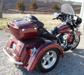 : 2002 H.D.Classic with a 2008 Trike Kit