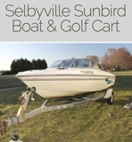 Boat and Golf Cart Online Auction DE