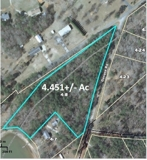 4.45+/- Acre Waterfront Parcel in Cross Hill, SC