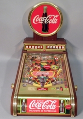 Franklin Mint Coca-Cola Pinball Machine
