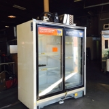 Zero Zone 2 door Refrigerated Selfcontained display cooler